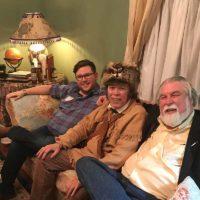 """Wade Dillon, """"Davy Crockett"""" and Hardin"""